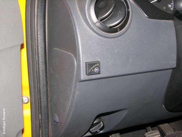 Instalatie GPL DACIA LOGAN MPI 4 cil 2004-2012 rezervor TI 34L 168649 E1