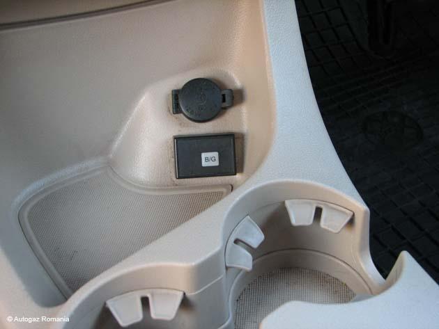 Instalatie GPL KIA SPORTAGE MPI 4cil 2004-2014 rezervor TE 47L  PF2