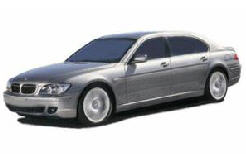 Instalatie GPL BMW seria 7 3.0 6cil 2002-2008 rezervor TI 53L  PM9