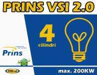 Instalatie GPL PRINS VSI 2.0 4cil max 200kW