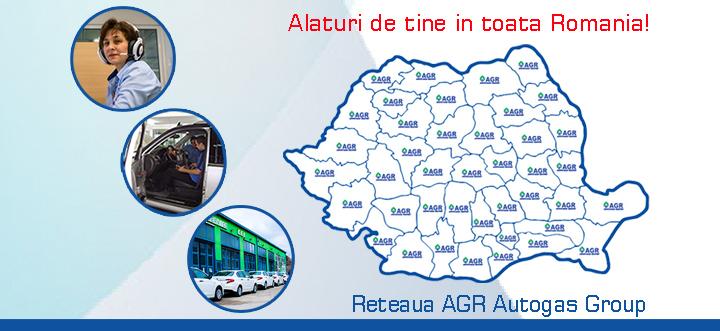 Alaturi de tine in toata Romania reteaua AGR Autogas Group